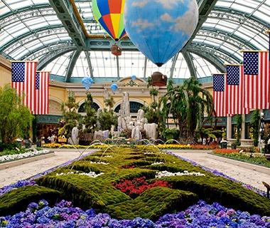 Conservatory at Bellagio, Las Vegas