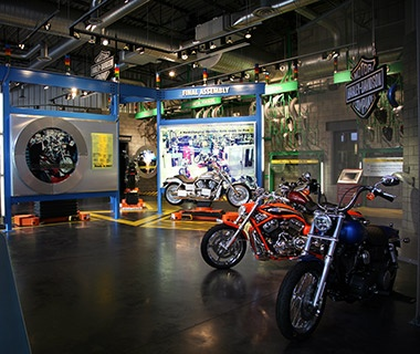 Harley-Davidson Factory Tour, Kansas City, MO