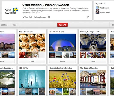 VisitSweden in Conjunction with Glitterati Incorporated