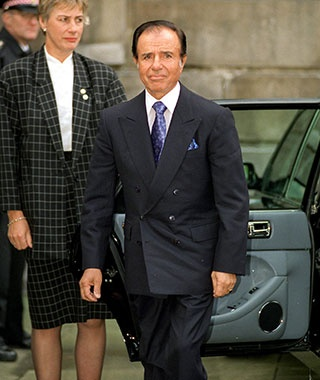 Menem Shall Not Be Named, Argentina