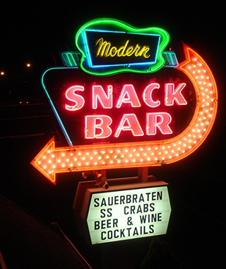 Modern Snack Bar, Long Island, NY