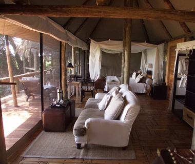 No. 1 Mombo Camp and Little Mombo Camp, Moremi Game Reserve, Botswana