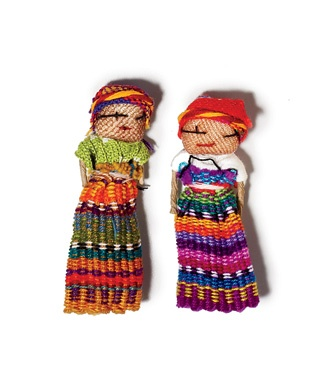 Worry Dolls, Guatemala