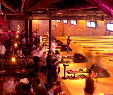 Brooklyn Bowl, Williamsburg, NY