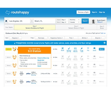 Smarter Search: Routehappy