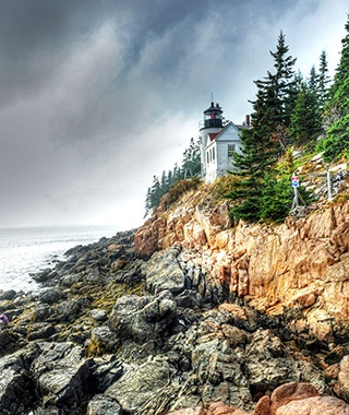 Bass Harbor Head Light, Mount Desert Island, ME