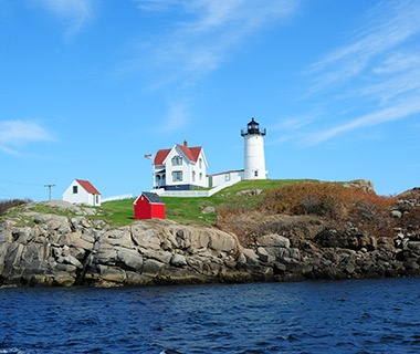 "Cape Neddick (""Nubble"") Light, York, ME"