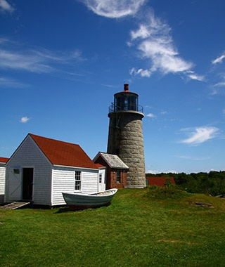 Monhegan Island Lighthouse, Monhegan Island, ME
