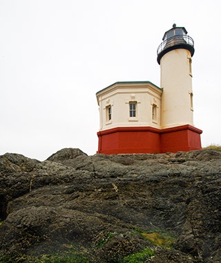 Coquille River Light, Bandon, OR
