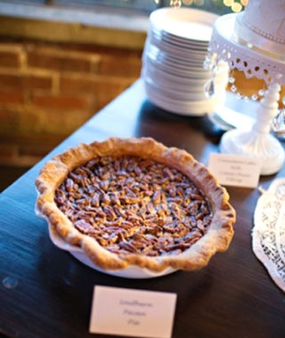pecan pie at the pie shop