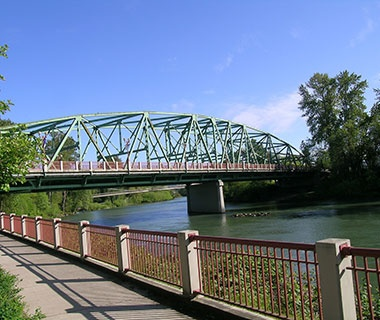 No. 10 Coburg Road over Willamette River (Ferry Street Bridge), Eugene, OR