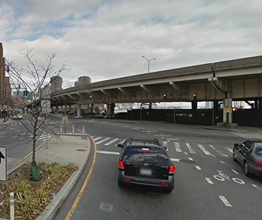 No. 14 NY Route 907L (FDR Drive) over Avenue C Bridge, New York