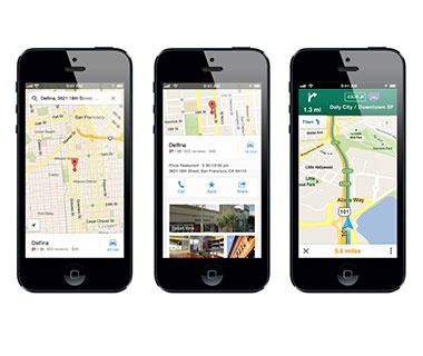 Take to the Streets by Car, Bike, or Foot: Google Maps