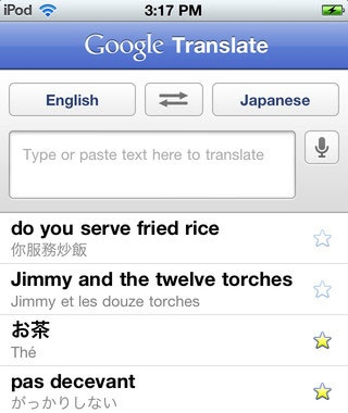 Communicate with the Locals: Google Translate
