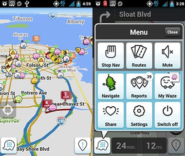Avoid the Traffic Jam: Waze
