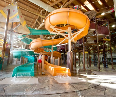 Great Wolf Lodge indoor water park in Concord, NC