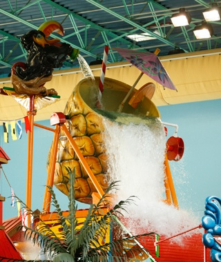 Lost Paradise Waterpark at KeyLime Cove Resort, Gurnee, IL
