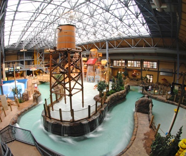 Silver Rapids Indoor Water Park in Kellogg, ID