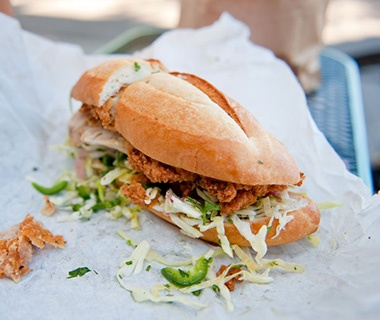 Bakesale Betty, Oakland: Fried Chicken Sandwich