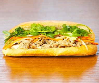 Saigon Sandwich, San Francisco: Roasted Pork Banh Mi
