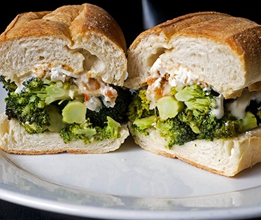 No. 7 Sub, New York: Broccoli Sub