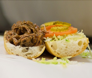 Parkway Bakery & Tavern, New Orleans: Roast Beef Po'boy