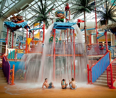 Kids Playing At Watiki Waterpark In Rapid City Sd