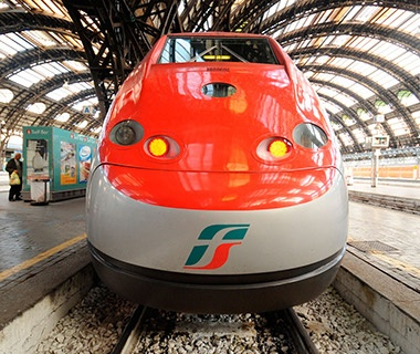 ETR 500 Frecciarossa (Red Arrow) and ETR 575 AGV, Italy