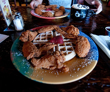 201309-w-best-chicken-and-waffles-the-breakfast-klub