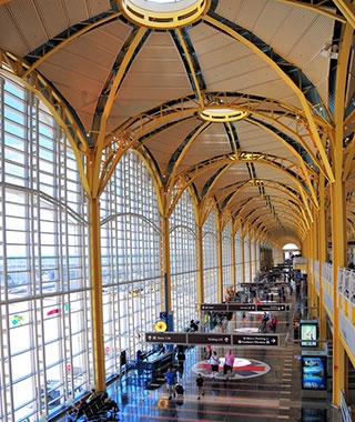 Best: No. 5 Reagan National Airport (DCA)