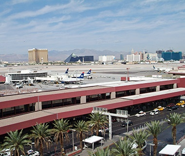 No. 15 McCarran International Airport, Las Vegas (LAS)