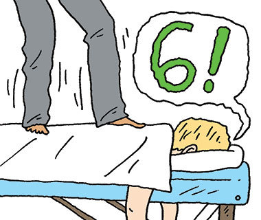 How to Cope With an Aggressive Masseuse