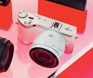 Best Overall Camera: Samsung NX300