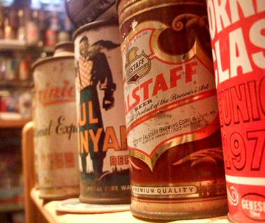 The East Taunton Beer Can Museum, East Taunton, MA