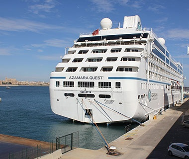 Top Large Ships  No. 5 Azamara Quest