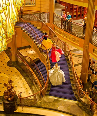 Top Mega Ships  No. 2 Disney Fantasy