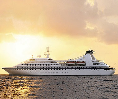 Top Small Ships  No. 3 Seabourn Pride