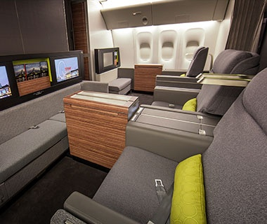 Best Transportation TAM Airlines First Class Cabin