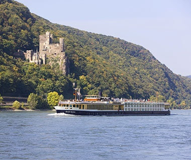Top River Cruise Ships  No. 3 Uniworld River Queen