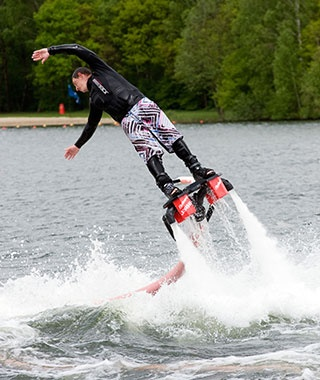 Flyboarding, Worldwide
