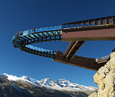 Glacier Skywalk, Jasper National Park, Canadian Rockies
