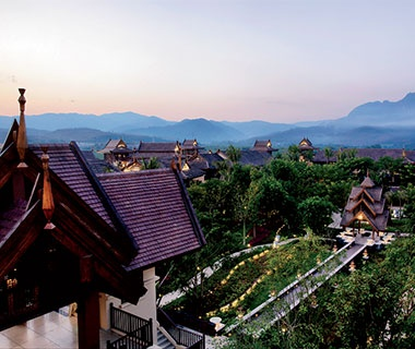 Remote Outpost: Anantara Xishuangbanna Resort and Spa, China