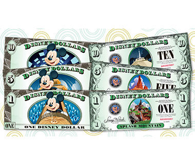 Keep to a Budget with Disney Dollars