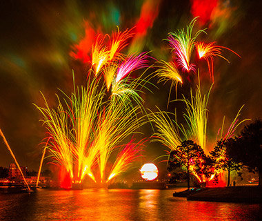 Best Spot to View Epcot's Fireworks