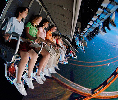 Picking the Best Seat on Epcot's Soarin'