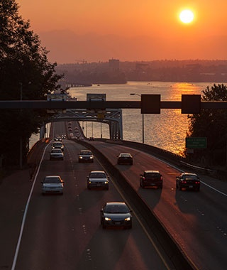 Longest Floating Bridge: Evergreen Point Bridge, Seattle