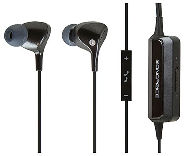 Monoprice Enhanced Noise-Canceling Earphones