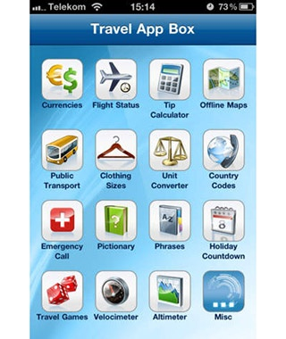Travel App Box