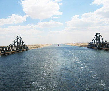 Longest Swing Bridge Span: Al-Ferdan Railway Bridge, Ismailia, Egypt