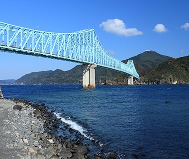 Longest Continuous-Truss Bridge Span: Ikitsuki Bridge, Japan